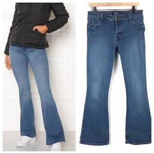 Levi's High Rise Button Fly Flare Jeans Size 11